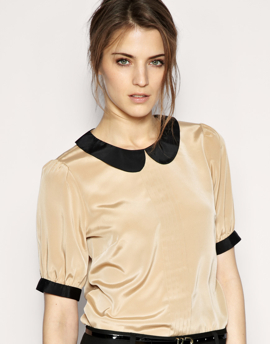 Find great deals on eBay for peter pan collar top. Shop with confidence.
