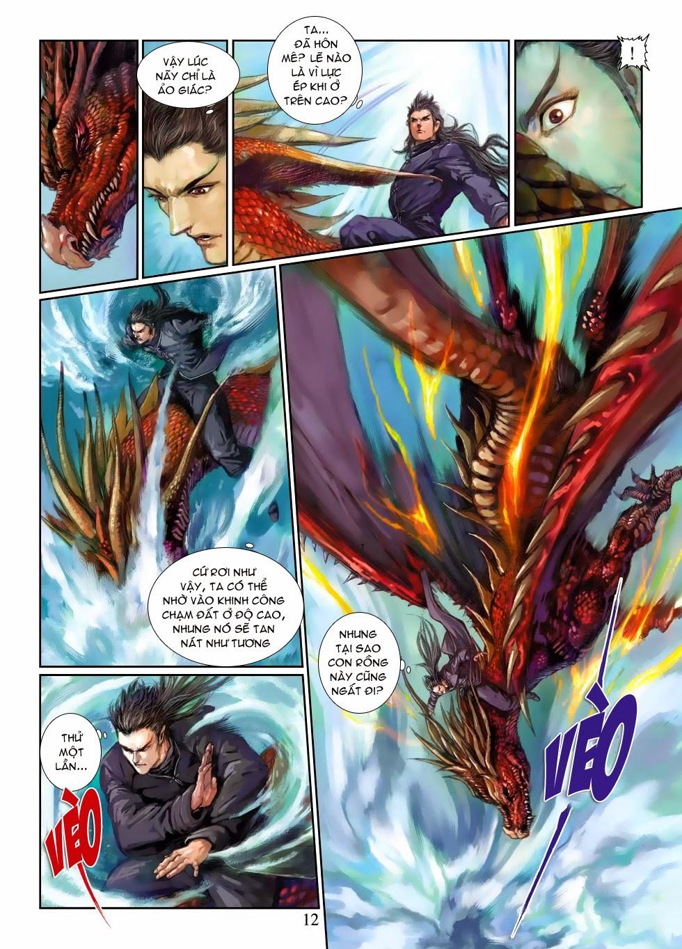 Thần Binh Tiền Truyện 4 - Huyền Thiên Tà Đế chap 3 - Trang 12