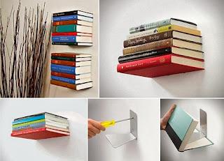 Estanteria Invisible para Libros, Bricolaje Facil Paso a Paso