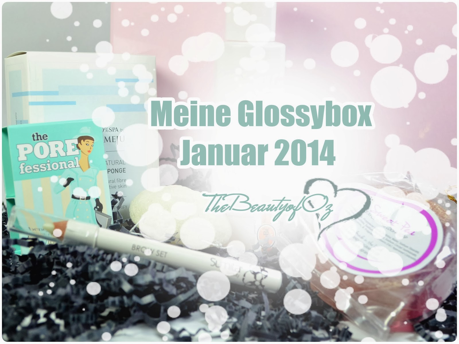 Unboxing Glossybox Januar 2014 - Fresh Start Edition