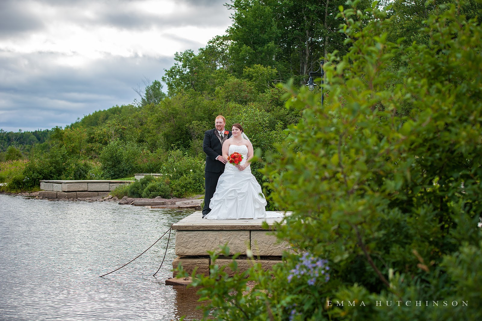 Weddings at Gorge Park in Grand Falls Windsor - Bride and Groom