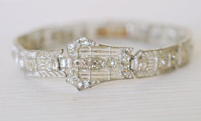 1920s Deco Bracelet #deco #jewelry #1920s #bracelet