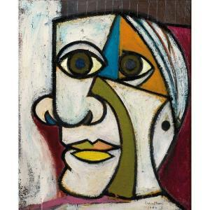 Image result for picasso abstract self portrait