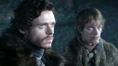 Robb Stark and Theon Greyjoy