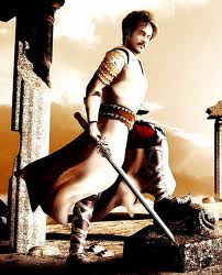 Rajini In a pre-historic look