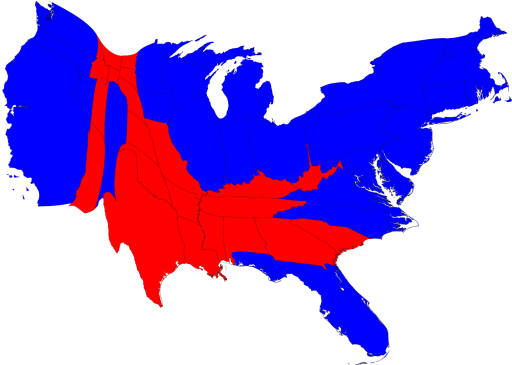 Election Maps Geographer Notes - Isarithmic map us voting