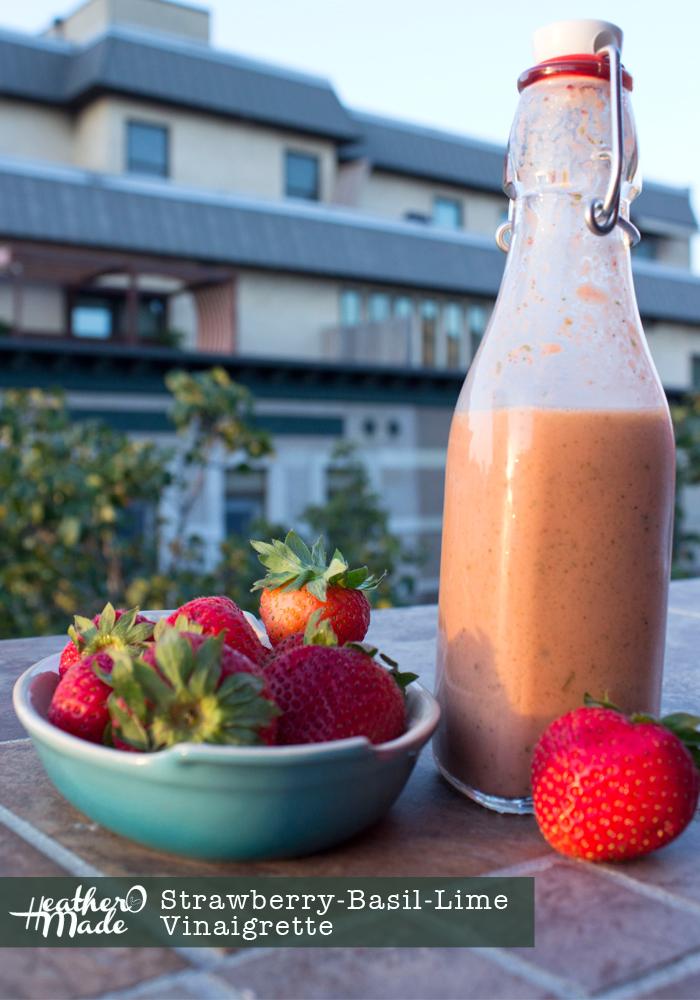 Strawberry-Basil-Lime Vinaigrette recipe