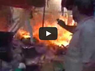 Jenazah Pro-Mursi dibakar