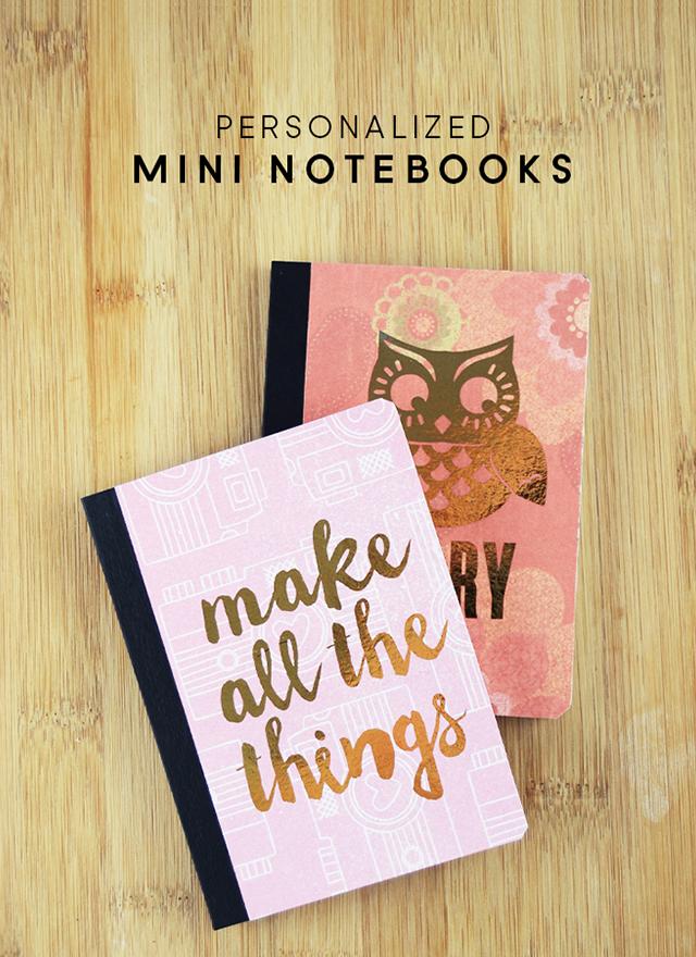 Custom paper writing notebooks