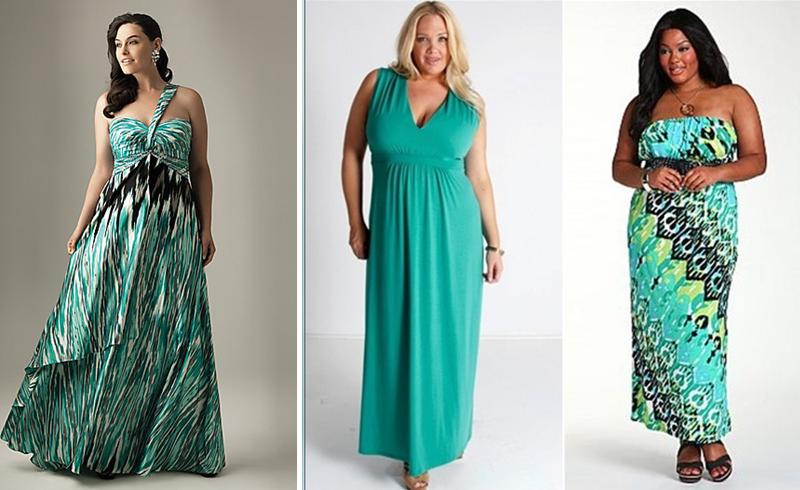 Как сшить летнее платье из для полных 768
