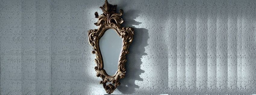Jolie couverture facebook HD  miroir