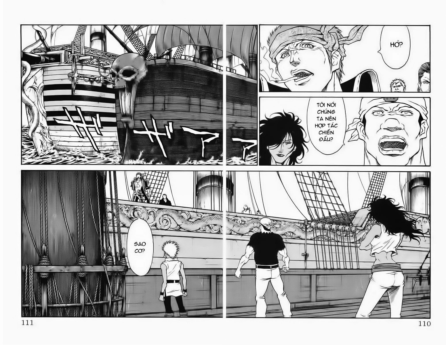 Vua Trên Biển – Coco Full Ahead chap 228 Trang 3 - Mangak.info