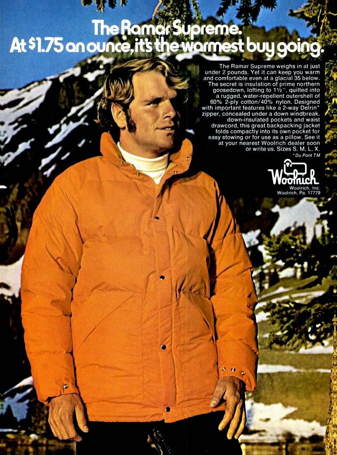 Woolrich Woolen Mills 1974 Ramar Cloth Parka