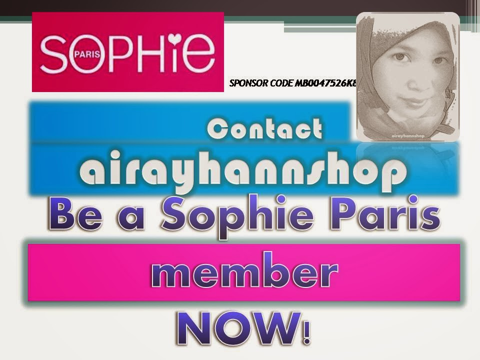 Sophie Paris with airayhannshop