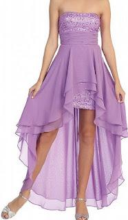 Vestidos Asimetricos, Purpura