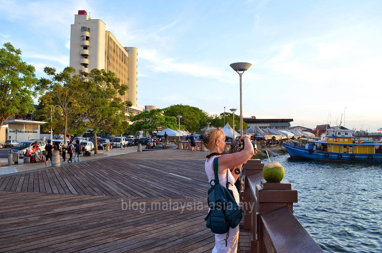 Bird Watching at Kota Kinabalu Seafront or Waterfront