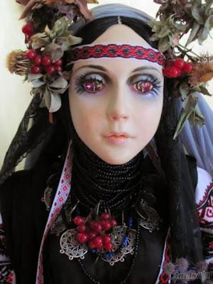 Івання Дацюк - лялька Мавка