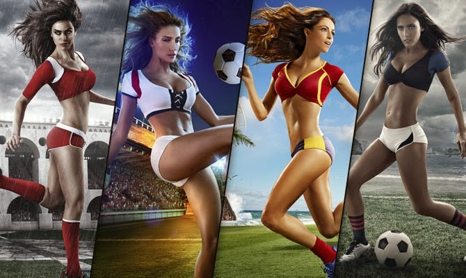 Consider, world cup football girls opinion you