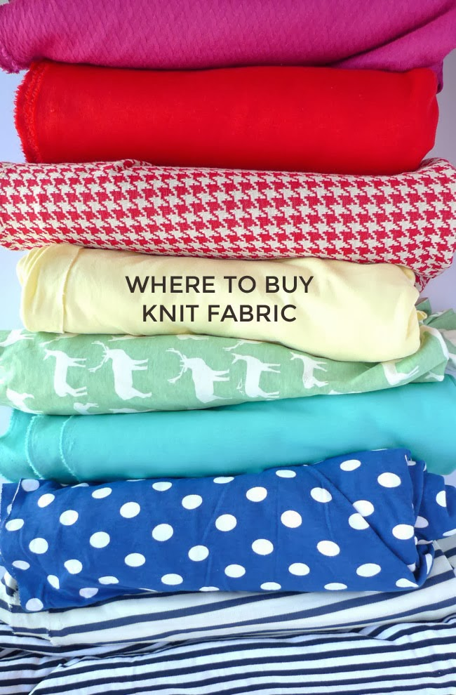 Tilly And The Buttons Where To Buy Knit Fabric
