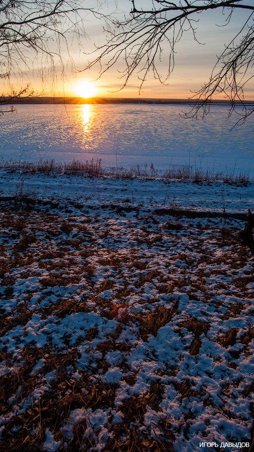 Давыдов, фотошкола, Солотин, пейзаж,зима