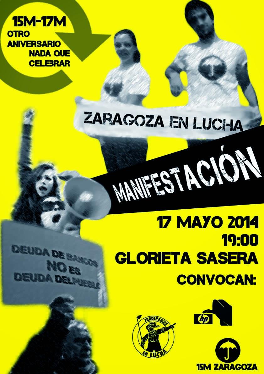 #17M Zaragoza en Lucha