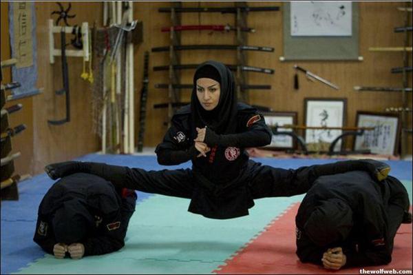 Conheça as mulheres ninjas