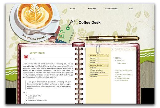 Coffee Desk - 3-Columns, Right-Sidebar, Personal, Search-Box