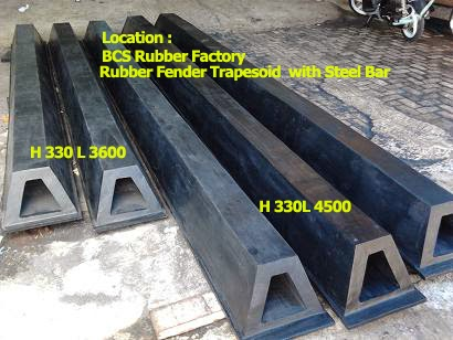 Rubber Fender Type Trapezoid