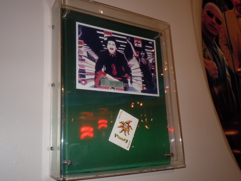 Jack Nicholson's Joker card Batman prop