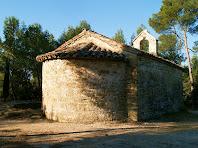 L'absis de l'ermita de Sant Salvador del Canadell