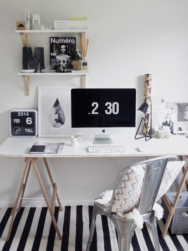 Boho Deco Chic: Consigue un despacho low cost como el de las fotos del ...