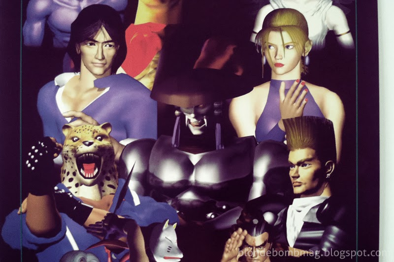 Tekken 2 poster Nina Williams