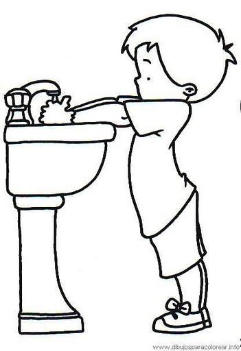Maestra erika valecillo habitos de higiene for Actividades de jardin de infantes
