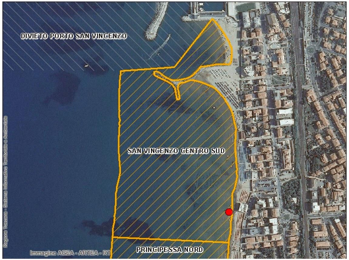 San vincenzo lavori in corso settembre 2014 - Bagno delfino san vincenzo ...