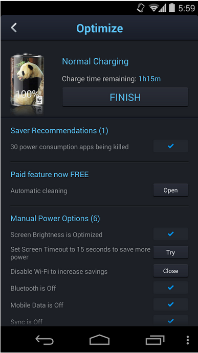 DU Battery Saver & Widgets_Android Battery Saver