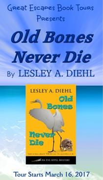Lesley Diehl here: 3/20/17