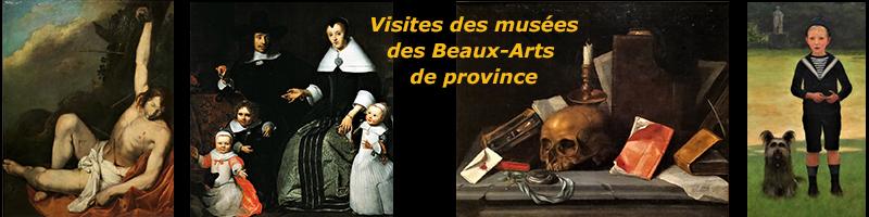 Visites des musées des Beaux-Arts de province