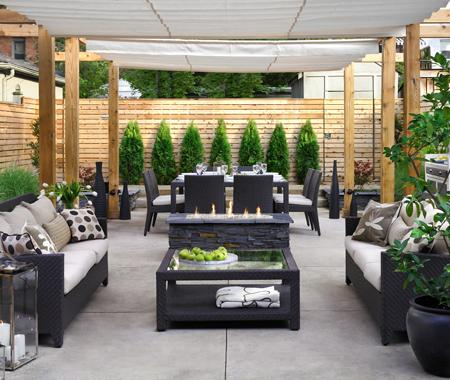 Luxury patio design for Simple back patio ideas