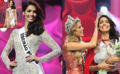 Fernanda Leme, Miss São Paulo 2014, tenta agora quebrar um tabu que dura 20 anos que é ganhar o tít