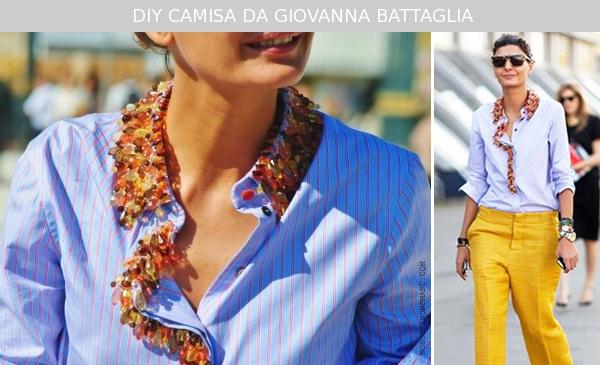 Customização de camisa feminina