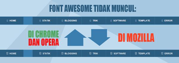 Solusi Terbaru Font Awesome Tidak Muncul di Template Blogger