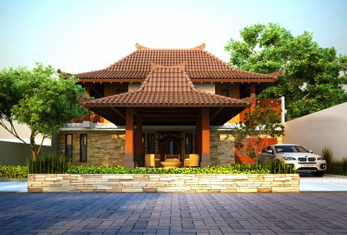 Desain Rumah Adat Jawa Modern