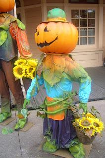 Personnage citrouille Disneyland Halloween