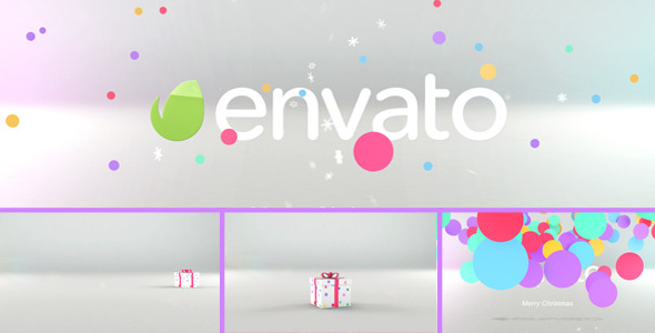 VideoHive Tricky Christmas Box