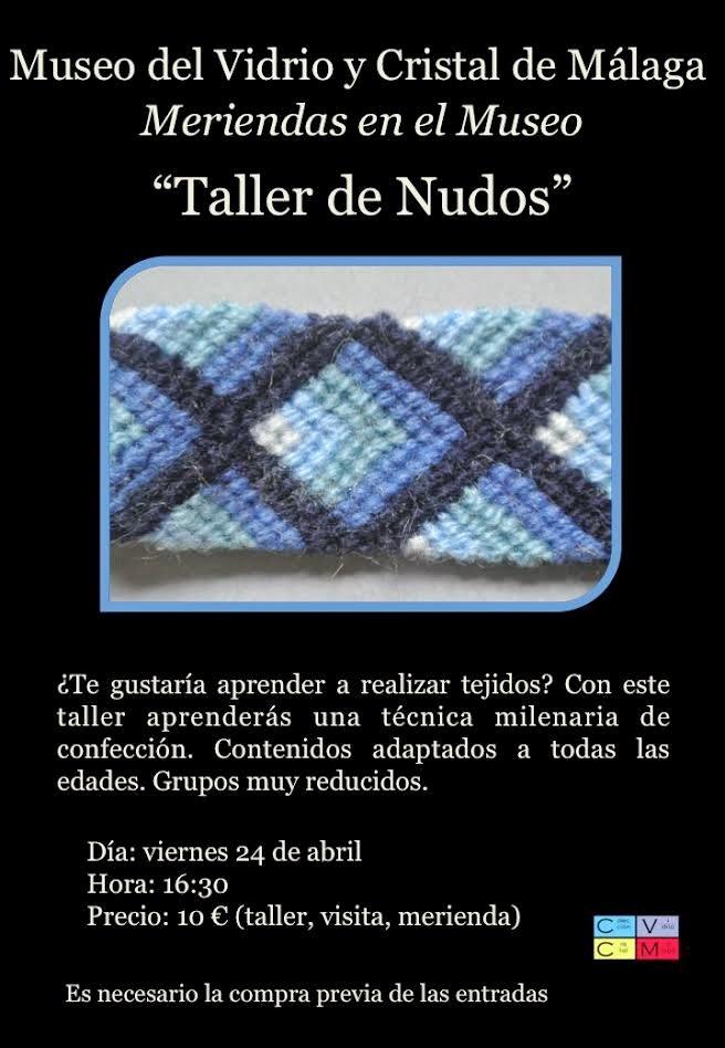Meriendas en el museo taller de nudos con visita - Nudo para tendedero ...