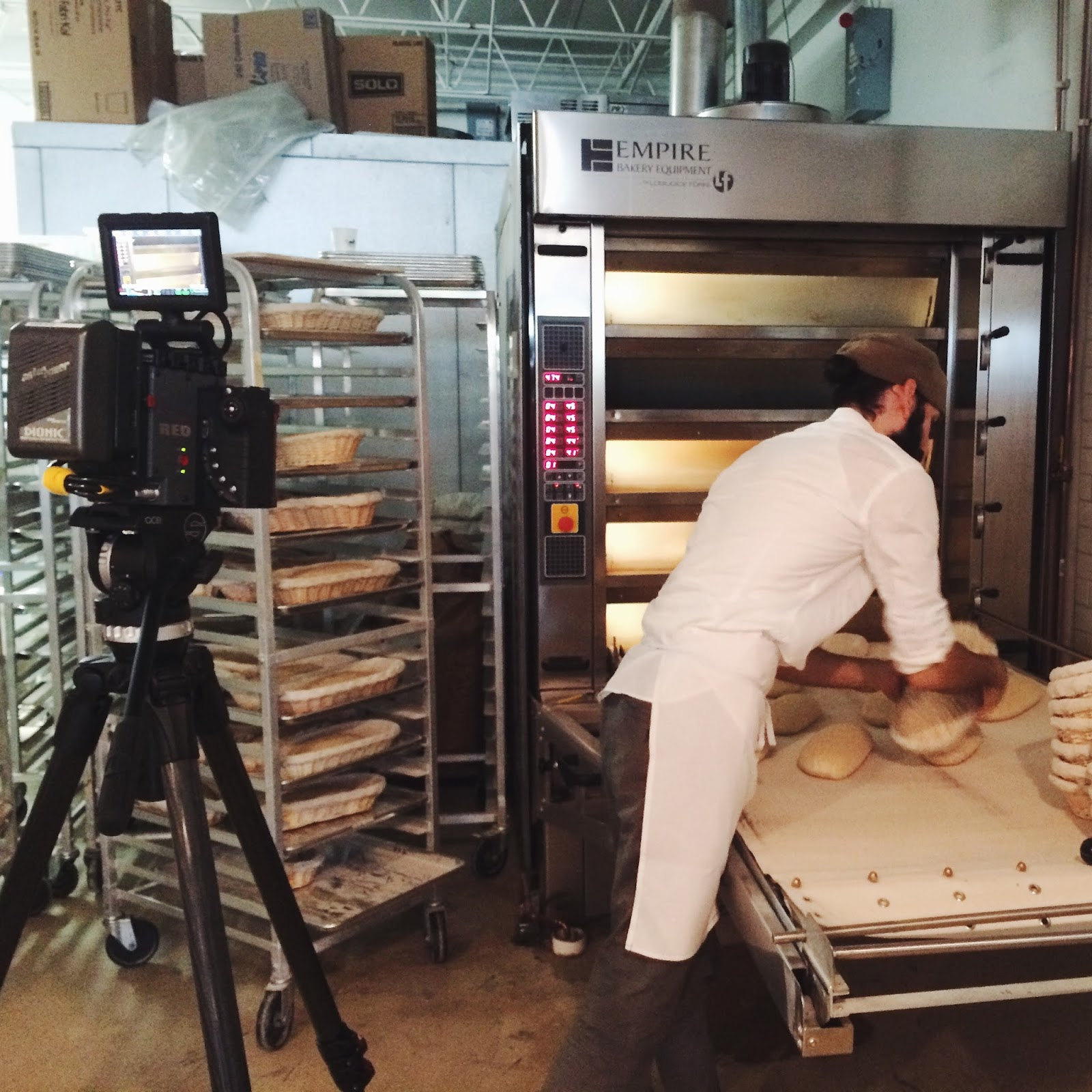 red camera, bakery, zak the baker, matt degreff