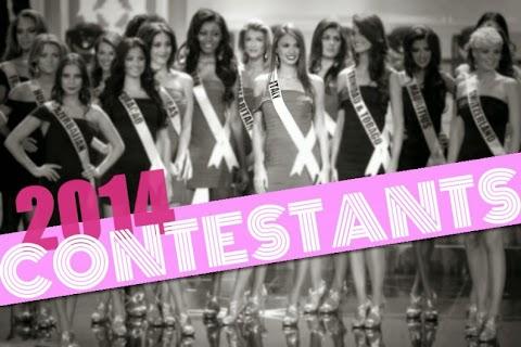 Ellas son las candidatas a Miss Universe 2014