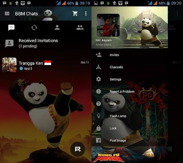 Preview BBM Kungfu Panda