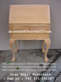 klasik furniture meja tulis klasik mahoni meja tulis klasik mentah unfinished supplier mebel jepara meja tulis mahoni mentah unfinished