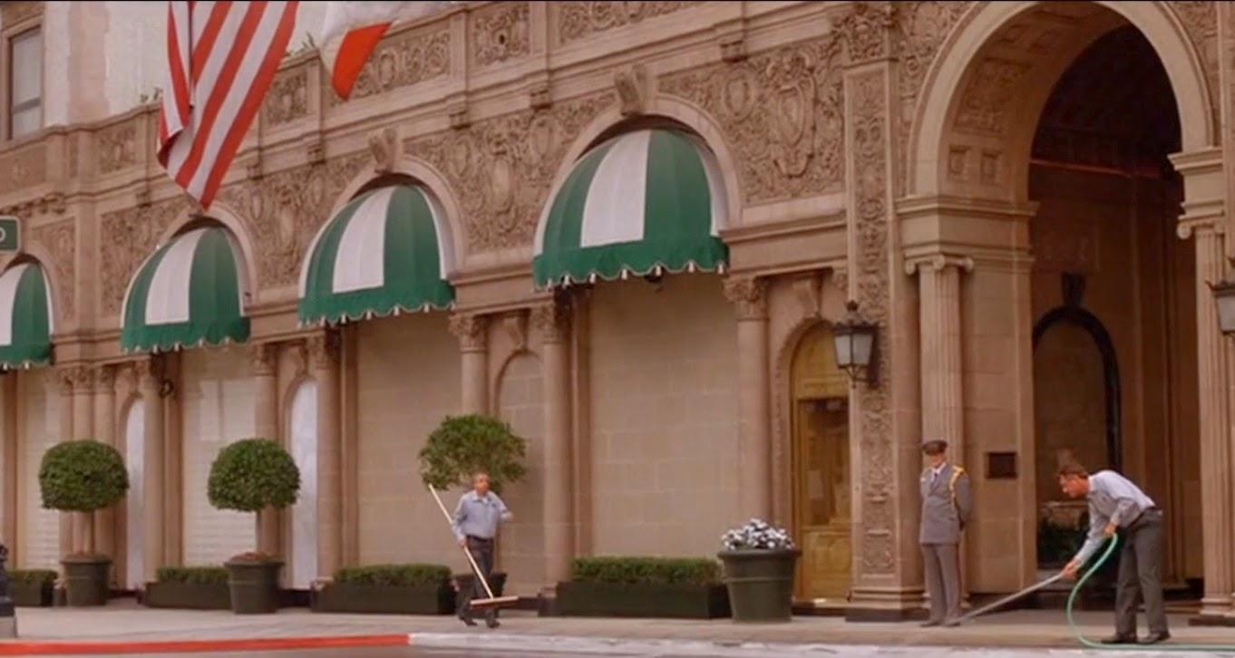 """Pretty Woman"": Beverly Wilshire Hotel Film stills"